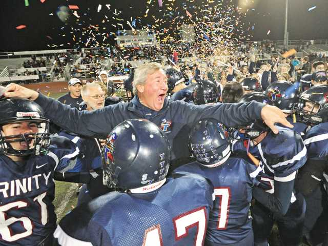 Trinity wins CIF title in blowout fashion