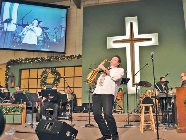 Churches spread Christmas joy