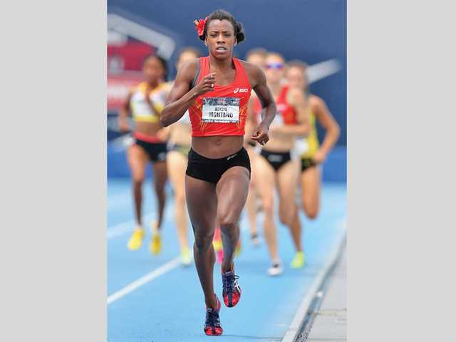 Canyon graduate and Olympic runner Alysia Montano will make an appearance at the Westfield Valencia Town Center to sign autographs, answer questions and take pictures next Thursday.