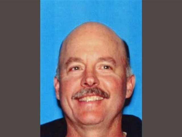 This photo provided by the California Department of Motor Vehicles via the Reno Gazette-Journal and KXTV News 10 shows Alan Frazier. Frazier, who complained he had a botched 2010 surgery, left a suicide note outlining plans for his attack before targeting physicians in a deadly rampage at a medical office.