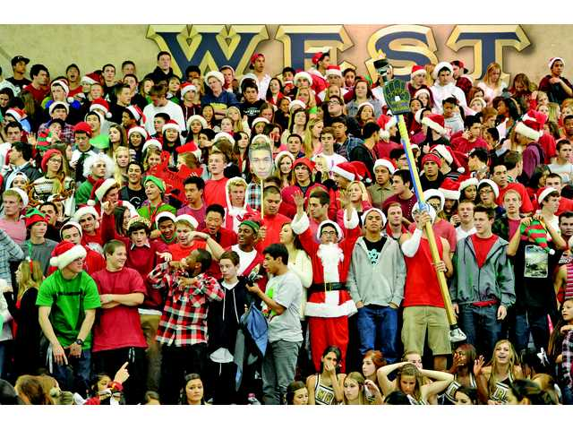 The West Ranch student section was a fearsome prospect for all opposing teams to deal with in 2013.