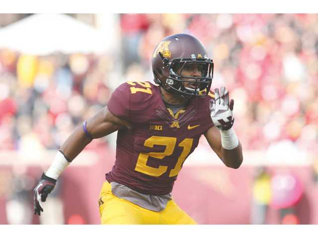 Valencia High graduate Brock Vereen will play his last collegiate game with Minnesota today in the Texas Bowl versus Syracuse.