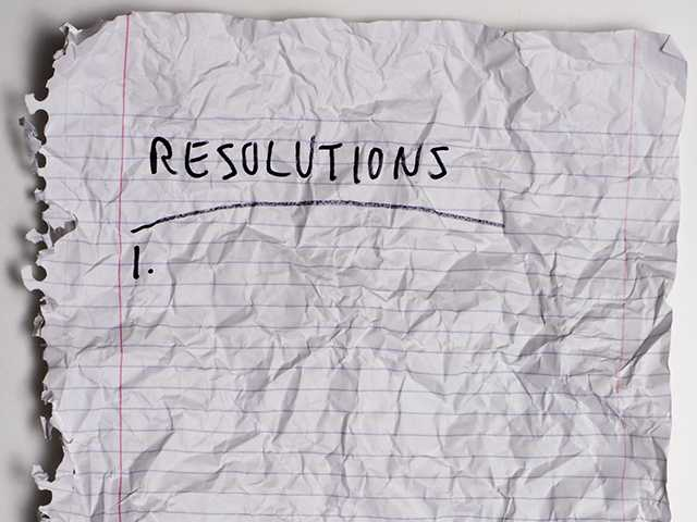 Experts say most New Year's resolutions fail.