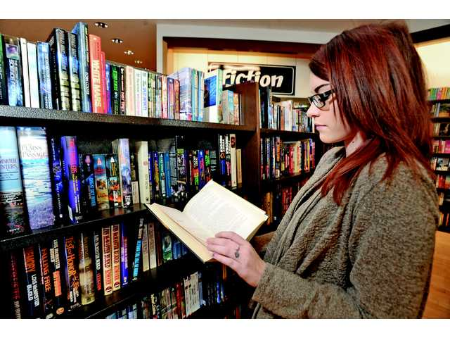 Readers reach for the page