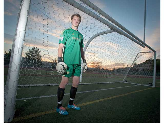 Valencia's Cole Murphy had to sit out last season after transferring from West Ranch. This will mark his first full varsity soccer season.