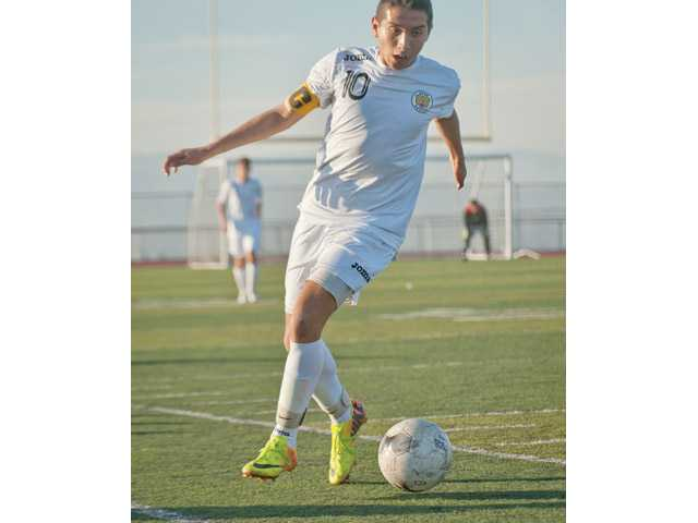 Golden Valley sophomore Francisco Perez looks to be one of the Foothill League's most dynamic players this year.