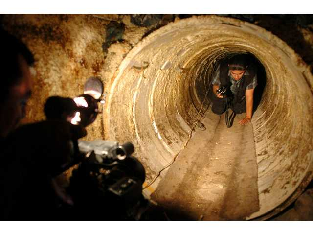 How tunnels are built, used along US-Mexico border