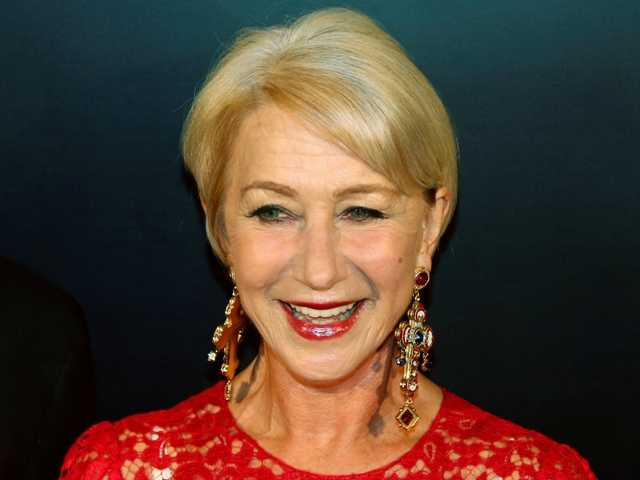 British actress Helen Mirren was named as Harvard University's Hasty Pudding Theatricals 2014 Woman of the Year.