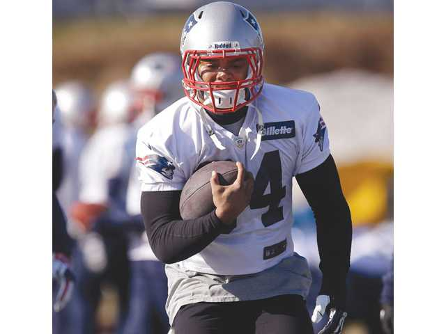 Valencia High alumnus and New England Patriots running back Shane Vereen will play in Sunday's AFC Championship game.