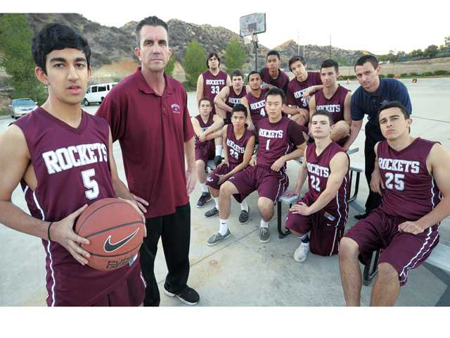 The Einstein Academy basketball team is off to a 9-4 start this year and is a potential Omega League champion and CIF-Southern Section Division VA force. The program is in its second varsity year.