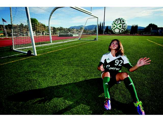 Canyon Cowboy Vanessa Quintero is one of the most dangerous scorers in the Foothill League.