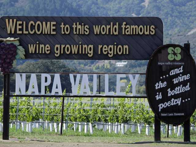Napa Valley wine grape growers said on Tuesday that some vines are ripening early and that farmers are planning fewer crops to save water.