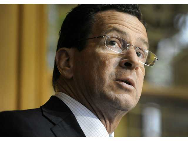 This May 4, 2011 photo shows Connecticut Gov. Dannel P. Malloy in Hartford, Conn.