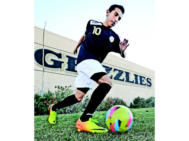 Golden Valley sophomore midfielder Francisco Perez has scored 14 goals and recorded four assists this season.