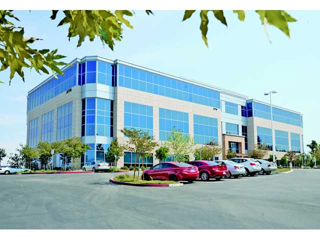 The new Sunkist Headquarters at 27770 Entertainment Drive in Valencia. The office market showed some increased activity in the latter half of 2013, according to a commercial realty brokerage firm.