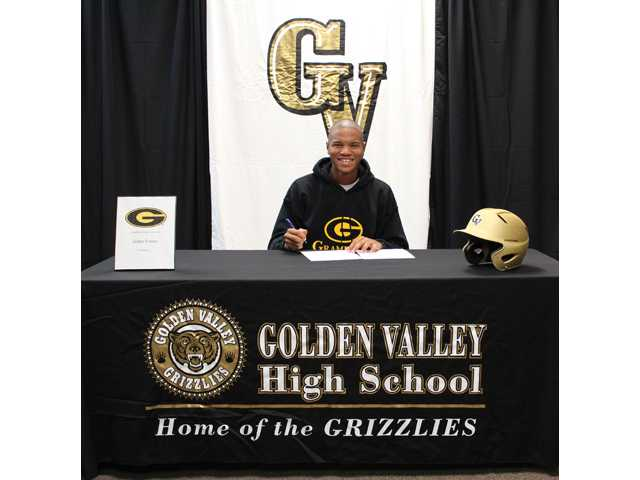 During the early signing period in November, Golden Valley baseball player Jaiden France signed with Grambling State University.