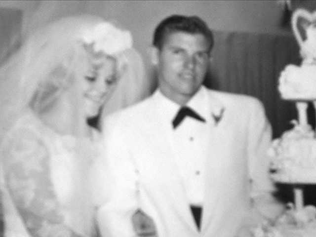 Gil and Cheryl Murphy on their wedding day Aug. 25, 1962.  Courtesy photo