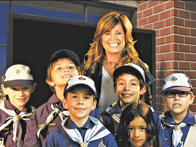 Cub Scout Pack 490, of Newhall, visited The Signal's Santa Clarita Studio Jan. 29. Addison Gross/The Signal
