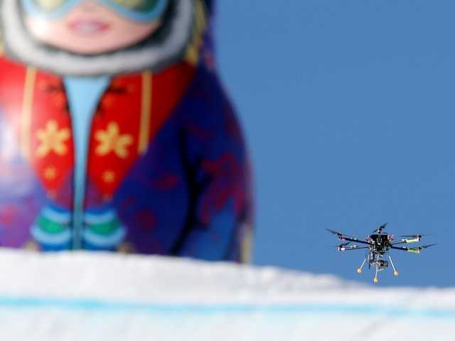 Sochi drone shooting Olympic TV, not terrorists