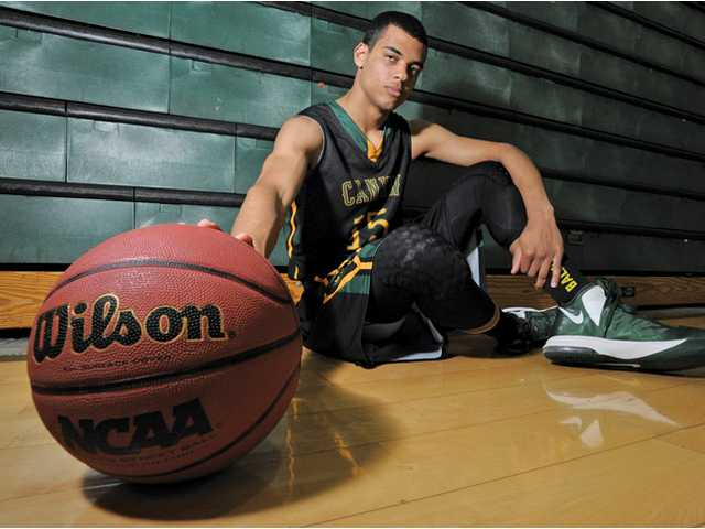 Canyon senior basketball player Dean Hendrix-Davis returned to the court late last season after recovering from a broken rib and a dislocated collarbone from a car accident.