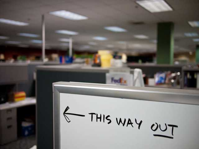 Take this job: Quit rate on the rise