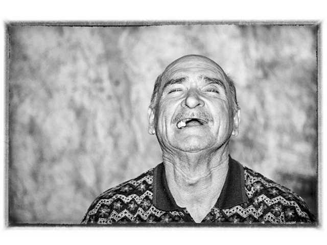 "One of the many faces of Santa Clarita Valley homeless that will part of the ""Souls of Hope"" display at the Valencia Library on Saturday. Courtesy of Gary Choppe'"