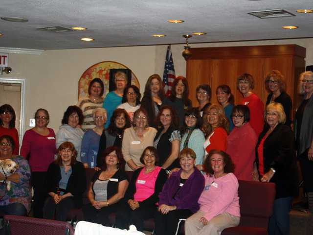 Women's One Day Retreat attendees at Temple Beth Ami. Courtesy photo