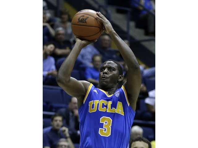 UCLA's Jordan Adams shoots against California on Wednesday in Berkeley.