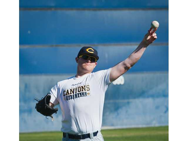 College of the Canyons pitcher J.C. Cloney was The Signal's 2012 All-Santa Clarita Valley Player of the Year while he was at West Ranch High School.