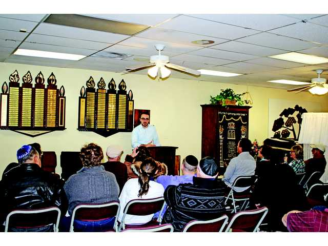 "Mark ""Mordechai"" Halawa spoke to a group at Chabad of SCV on February 19. He shared his intriguing story of transformation from Muslim to Jew, after learning his grandmother's history and conversion as a teenager."