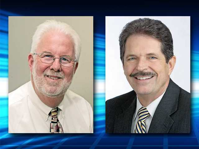 Signal executives Russ Briley, left, and Randy Morton have been promoted.