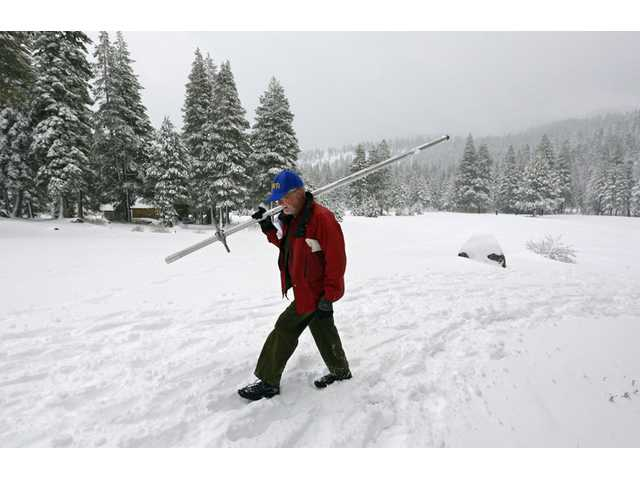 Sierra snowpack one-third normal; outlook mixed