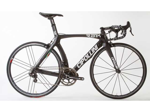 The stolen black Cipollini bicycle is valued at $12,000.