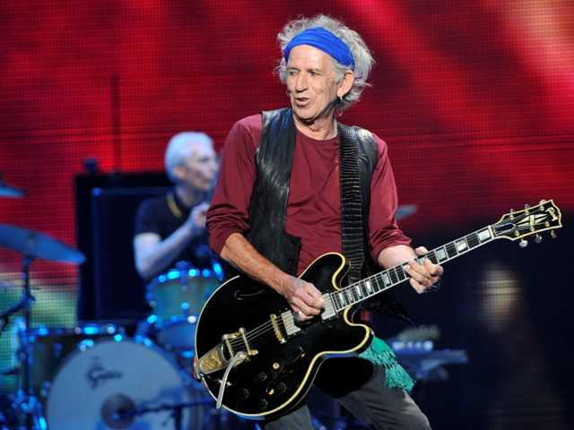 "Rolling Stones Keith Richards has a deal for a childrens picture story book called ""Gus & Me: The Story of My Granddad and My First Guitar."""