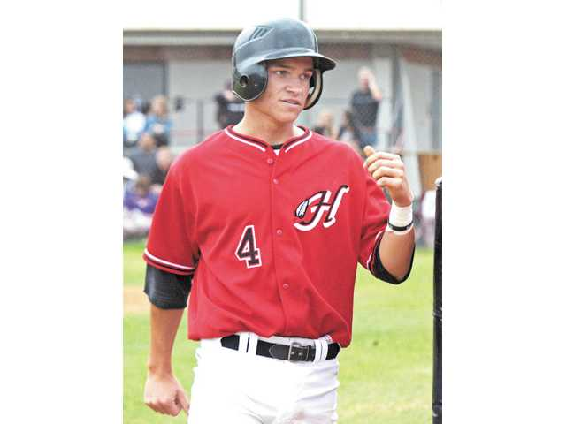 Hart's Nick Valaika is one of the Foothill League's most promising talents.