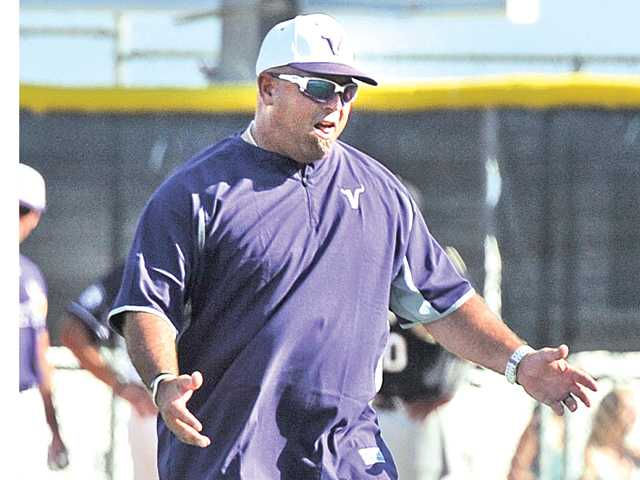 Valencia head baseball coach Jared Snyder
