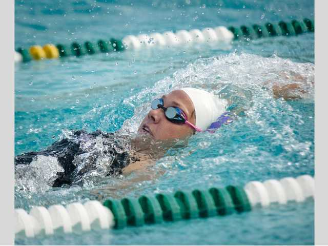 Valencia swimming takes first meet