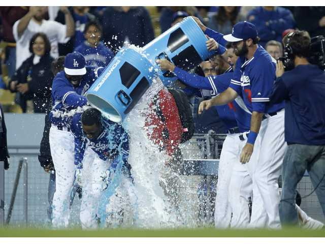 Dodgers win Freeway Series preseason game