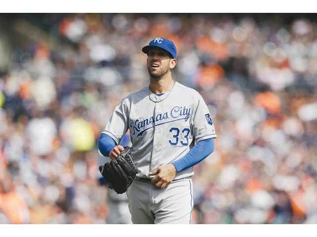 James Shields solid, but Royals lose