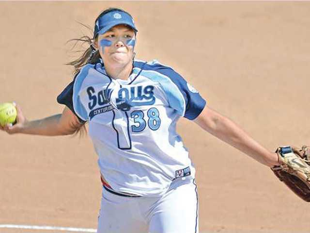 Saugus pitcher Mariah Lopez is one reason why the Centurions are considered a league title favorite.