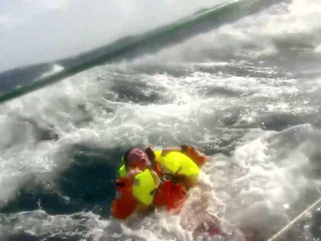 British sailor praises mates after ocean rescue