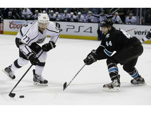 The Los Angeles Kings face the Vancouver Canucks on Saturday at 7 p.m. on FSW Prime Ticket.