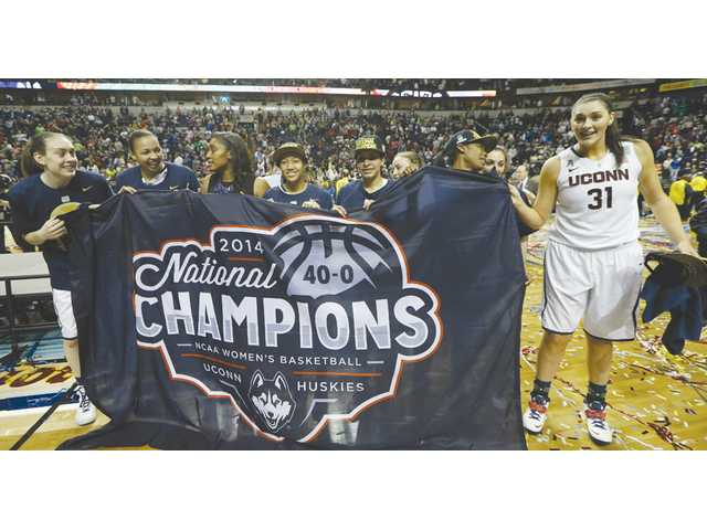 UConn celebrates again as women's team wins title