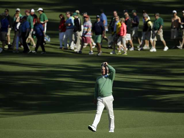 Vince at the Masters: Still waiting on Freddie