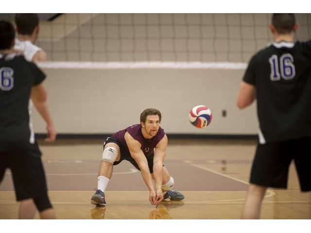 Valencia grad Nick Ferry, a libero, broke the Springfield College record for digs this season with 1,007.