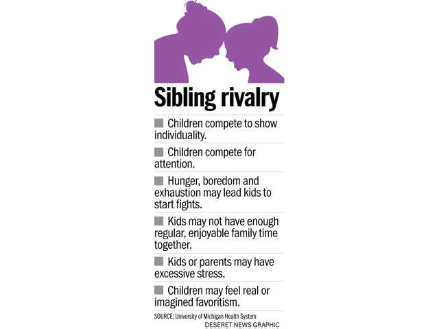 Corralling the good in sibling rivalry while overcoming the aggravation