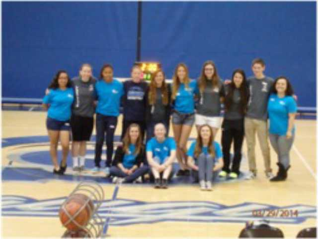The Saugus High School S.O.S club   Alexa Ferrante/Courtesy Photo