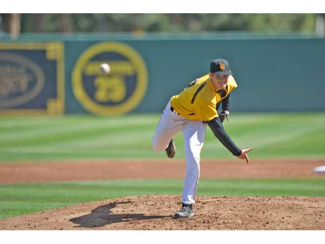 Pitcher Andrew Rohrbach hardly played while at College of the Canyons, but he's now the ace of Long Beach State's pitching staff.