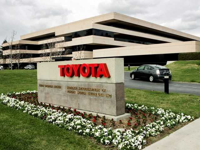 Toyota's U.S. headquarters in Torrance, Calif. Toyota said that it will move its U.S. headquarters from California to Plano, Texas.