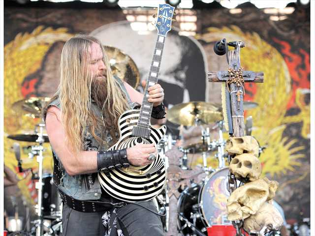 Heavy metal icon Zakk Wylde — from such acts as Ozzy Osbourne and Black Label Society — calls Castaic home. Photo by Associated Press.